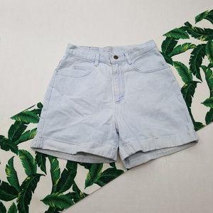 Vintage Hi-Rise Mom Jean Shorts